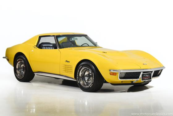 1971 Chevrolet Corvette Stingray:24 car images available