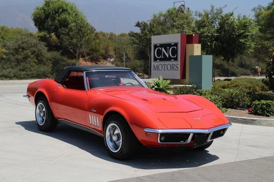 1969 Chevrolet Corvette Stingray:24 car images available