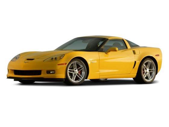2008 Chevrolet Corvette Z06 : Car has generic photo
