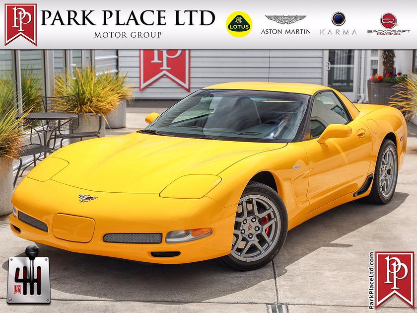 2003 Chevrolet Corvette Z06:24 car images available