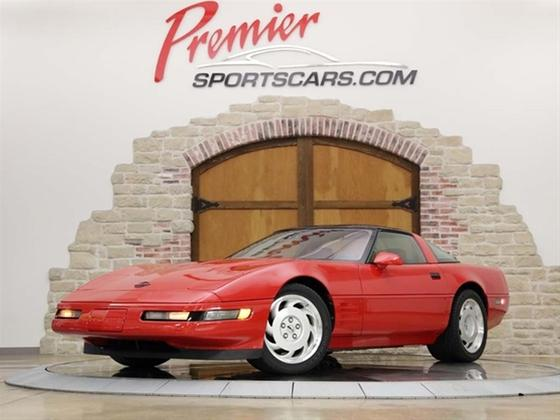 1991 Chevrolet Corvette ZR-1:24 car images available