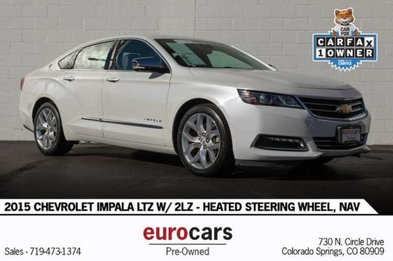 2015 Chevrolet Impala LTZ:24 car images available