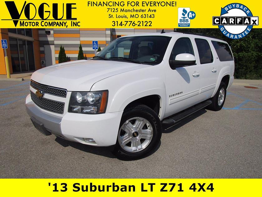2013 Chevrolet Suburban 1500 LT:24 car images available