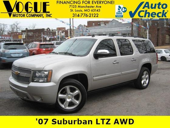 2007 Chevrolet Suburban 1500 LTZ:24 car images available