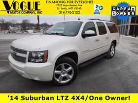 2014 Chevrolet Suburban 1500 LTZ:24 car images available