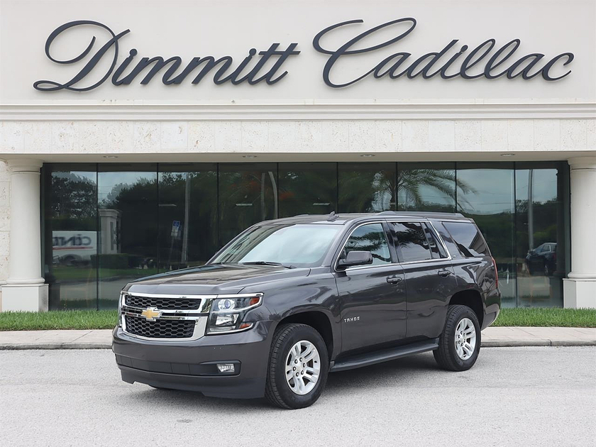 2016 Chevrolet Tahoe LT:24 car images available