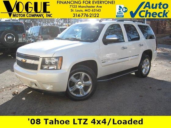 2008 Chevrolet Tahoe LTZ:24 car images available