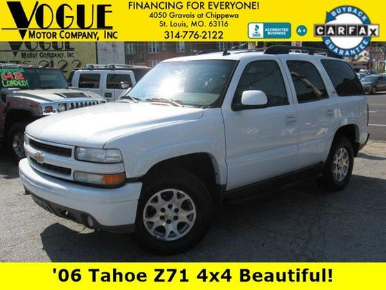 2006 Chevrolet Tahoe Z71:24 car images available