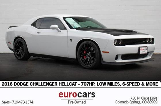 2016 Dodge Challenger Hellcat:24 car images available
