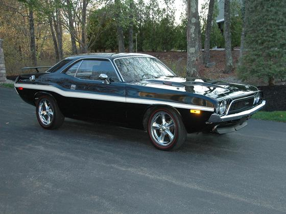 1973 Dodge Challenger SRT Supercharged