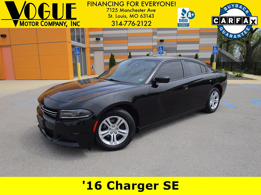 2016 Dodge Charger SE:20 car images available