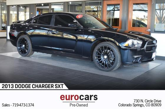 2013 Dodge Charger SXT:24 car images available