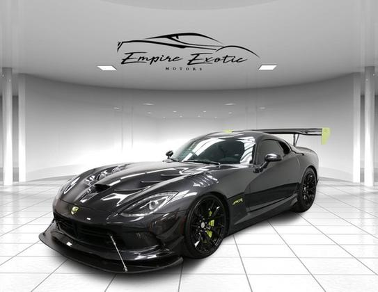 2016 dodge viper acr for sale in addison tx exotic car list. Black Bedroom Furniture Sets. Home Design Ideas