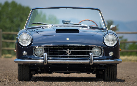 1961 Ferrari 250 PF Cabriolet:21 car images available