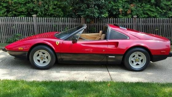 1982 Ferrari 308 GTS:4 car images available