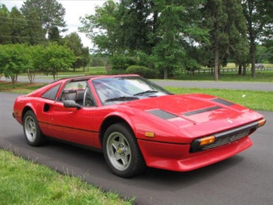 1984 Ferrari 308 GTS:9 car images available