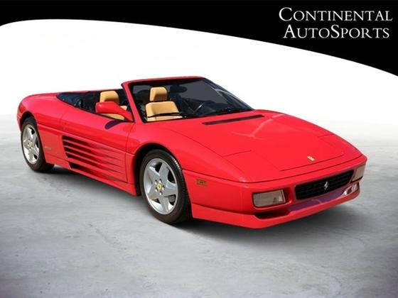 1994 Ferrari 348 Spider:24 car images available
