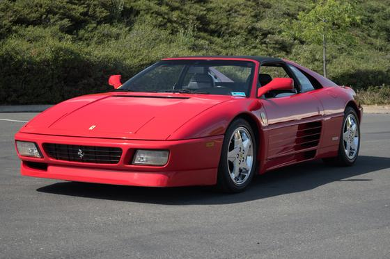 1990 Ferrari 348 TS:9 car images available
