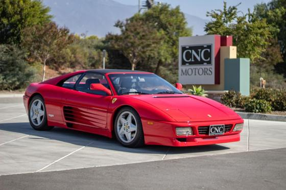1992 Ferrari 348 TS:24 car images available