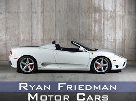 2001 Ferrari 360 :24 car images available