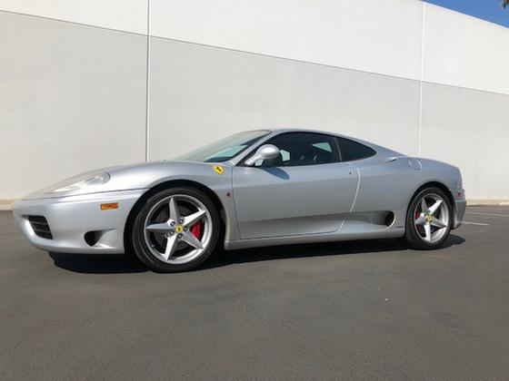 2001 Ferrari 360 Modena:17 car images available