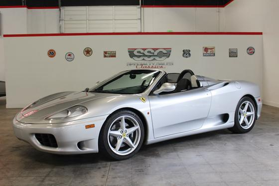 2000 Ferrari 360 Modena:9 car images available