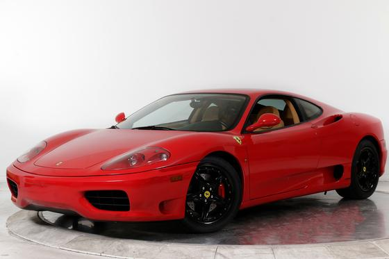 2003 Ferrari 360 Modena:24 car images available