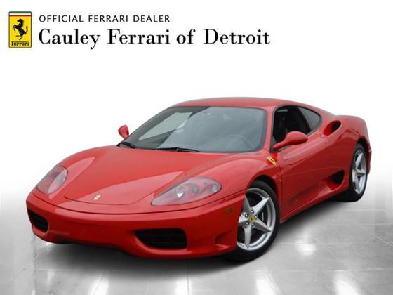 2000 Ferrari 360 Modena:24 car images available