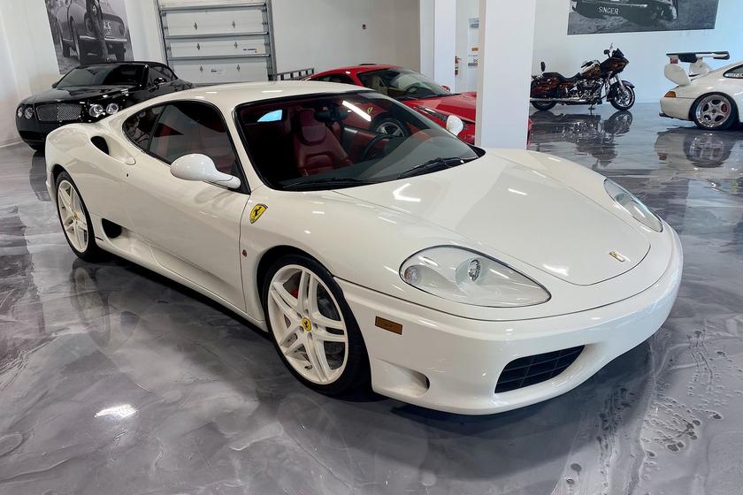 2003 Ferrari 360 Modena:9 car images available