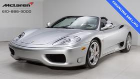 2003 Ferrari 360 Spider:21 car images available