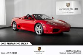 2003 Ferrari 360 Spider:24 car images available