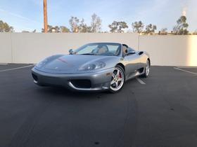 2003 Ferrari 360 Spider:18 car images available