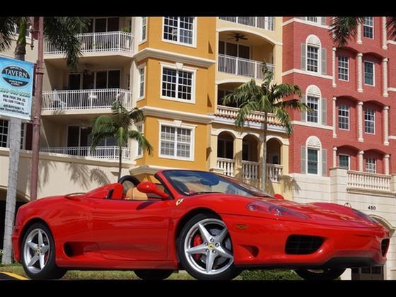 2001 Ferrari 360 Spider:24 car images available