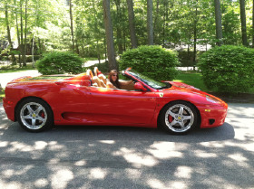 2004 Ferrari 360 Spider:17 car images available