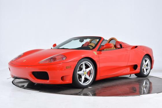 2005 Ferrari 360 Spider:24 car images available