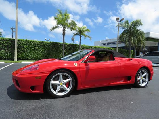 2005 Ferrari 360 Spider:24 car images available