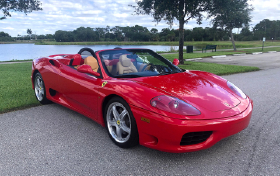 2003 Ferrari 360 Spider:10 car images available