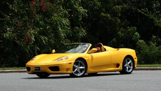 2001 Ferrari 360 Spider:24 car images available