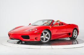 2004 Ferrari 360 Spider:24 car images available