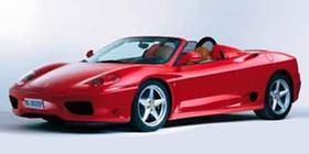 2002 Ferrari 360 Spider : Car has generic photo