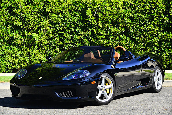 2004 Ferrari 360 Spider:12 car images available