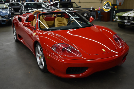 2001 Ferrari 360 Spider:12 car images available