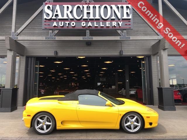 2001 Ferrari 360 Spider:2 car images available