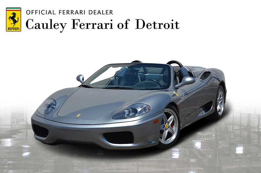 2004 Ferrari 360 Spider:24 car images available