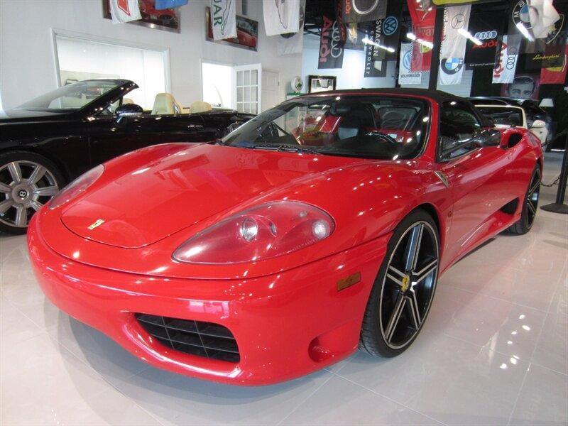 2002 Ferrari 360 Spider:14 car images available