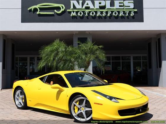 2010 Ferrari 458 :24 car images available