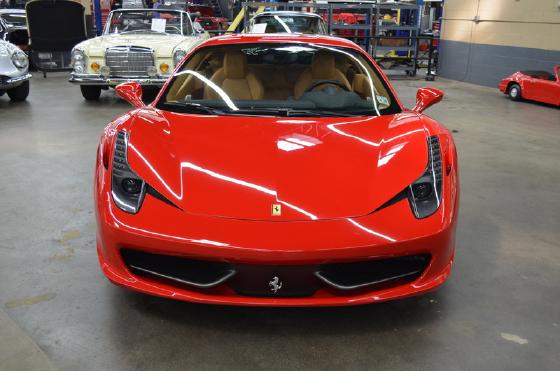 2011 Ferrari 458