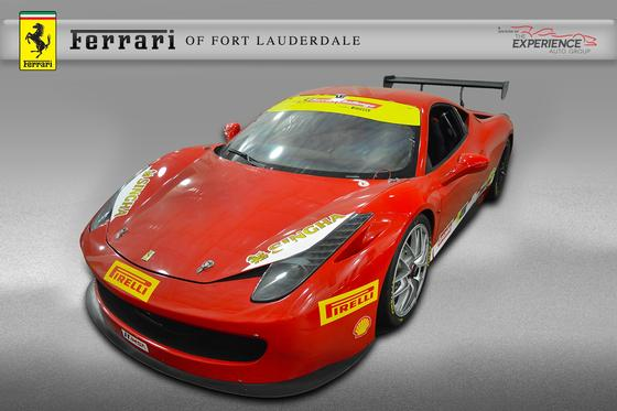 2011 Ferrari 458 Challenge:16 car images available