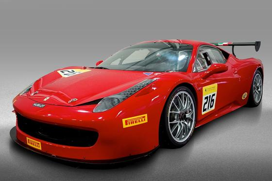 2013 Ferrari 458 Challenge:24 car images available