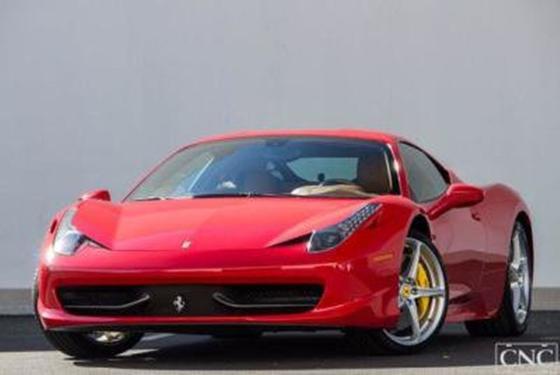 2010 Ferrari 458 Italia:5 car images available